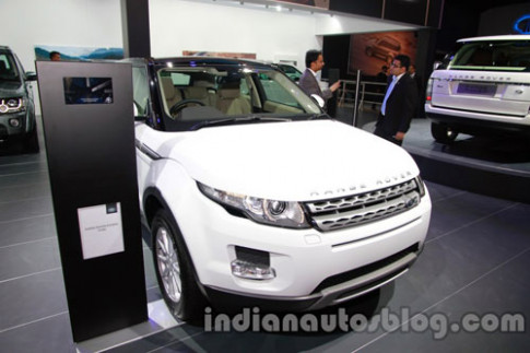 Range Rover Evoque 2014 ra mat tai New Delhi Auto Expo 2014