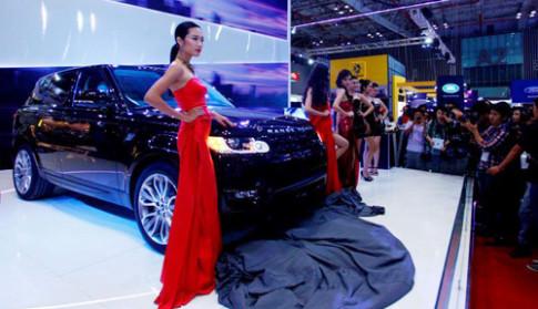 Range Rover Sport ra mat tai Viet Nam Motor Show 2013