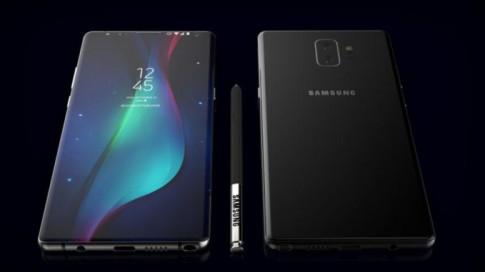 Samsung 'choi lon' voi Note 9: pin khong lo va cam bien van tay duoi man hinh