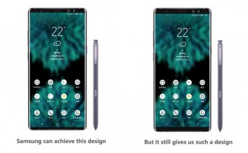 Sau khi dung thu smartphone Trung Quoc, pho chu tich Samsung yeu cau doi thiet ke Note 9