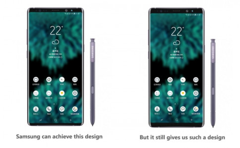 Sau nhieu tin du, Samsung co gang tran an fan cua Galaxy Note 9