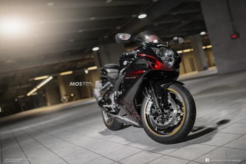 Sport Bike duong pho Suzuki Gixxer 600 phien ban vua bo cap