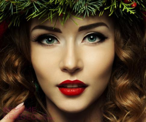 Video: Tỏa sáng đêm Giáng sinh với 2 cách tô son đỏ