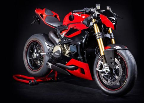 Xe do Ducati 1199 S Fighter phong cach nakedbike