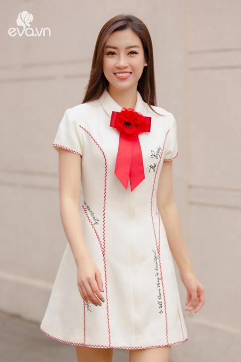 Chiec vay khien Hoa hau Do My Linh, Chi Pu va Angela Phuong Trinh deu me man