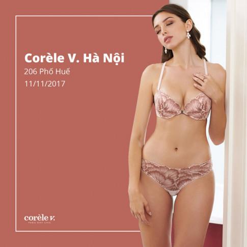 Corèle V. phố Huế - đem nội y chuẩn Pháp đến với quý cô Hà thành