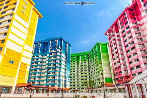 Tham quan tòa nhà sặc sỡ Rochor, Singapore