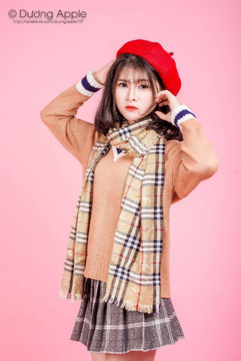 Nữ sinh 10X Bắc Giang, cao gần 1m70, xinh như hoa hậu