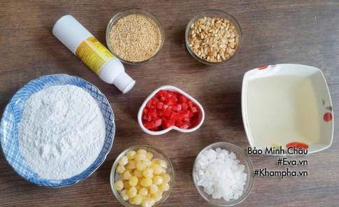Cách làm bánh dẻo nhân thập cẩm truyền thống chuẩn vị