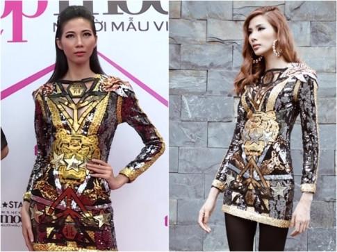 Cùng một set đồ, nhưng Hoàng Thùy và Hồ Ngọc Hà sao lại mặc khác nhau đến thế?
