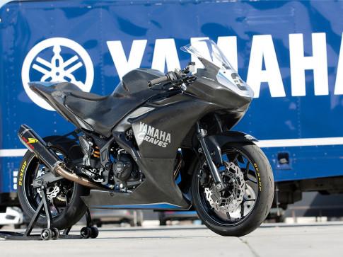 Hang nong Yamaha R3 do kich khung de buoc vao san dua lon