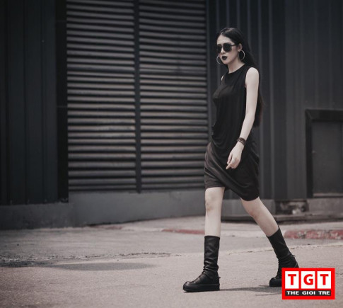 """Không nhận ra Hotgirl Quảng Bình với gout thời trang: """"ngầu, chất, mạnh mẽ"""""""