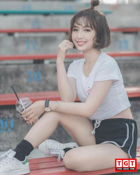 "Nu dien vien phim ""Sap Ra""- Thanh Thanh chao he voi hinh anh khac la, sport"