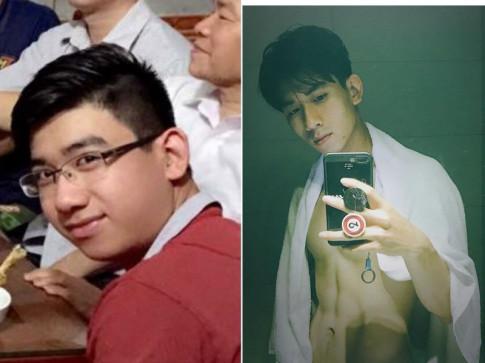 Bi quyet giam 35 kg cua chang hot boy tung nang toi 98 kg