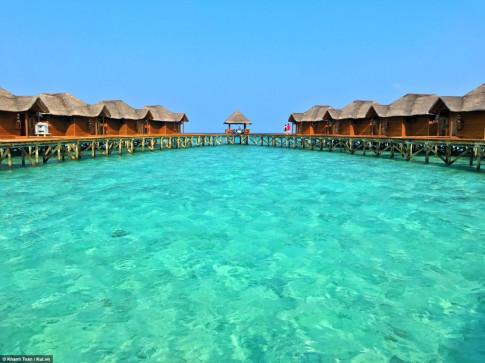 """""""Bo tui"""" ngay bi kip du lich Maldives gia re"""