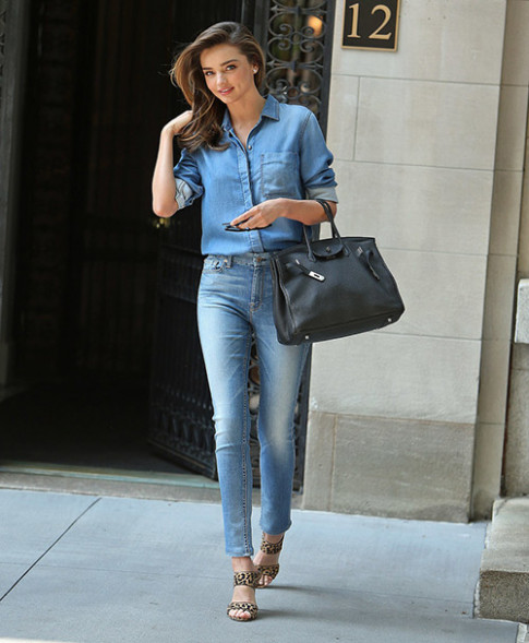 Chang may ai mac denim dep nhu Miranda Kerr