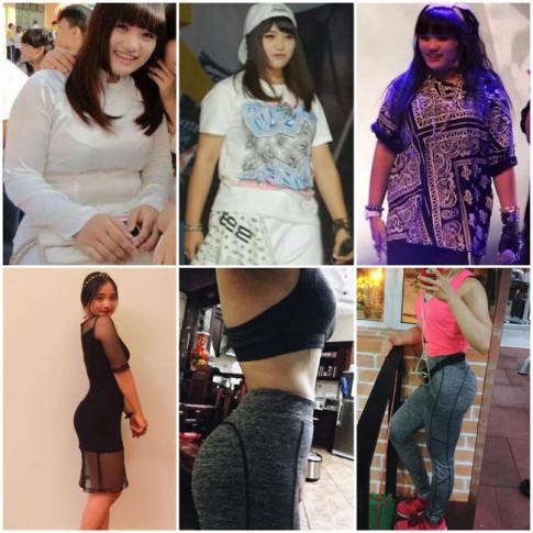 Đây là cách đơn giản mà cô nàng mập ú đã giảm 28kg trong 17 tháng