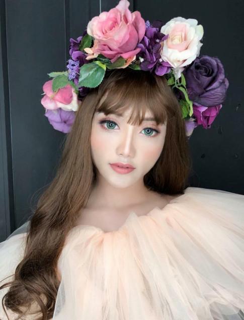 Nam sinh Dai hoc Van hoa Ha Noi xinh dep, nong bong nhu hot girl