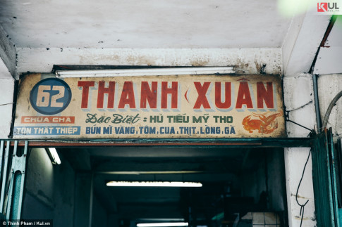 Tiem hu tieu 'Thanh Xuan' My Tho, hon 70 nam toa huong giua Sai Gon