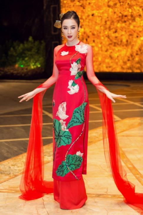 Angela Phuong Trinh lam vedette, mac ao dai 100 trieu dinh da quy nang triu van mua than thai nhu nay