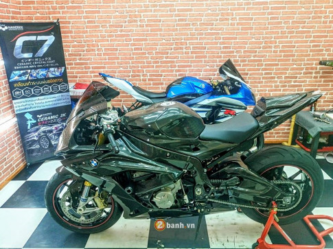BMW S1000RR 2015 day tinh te voi phien ban Over Carbon
