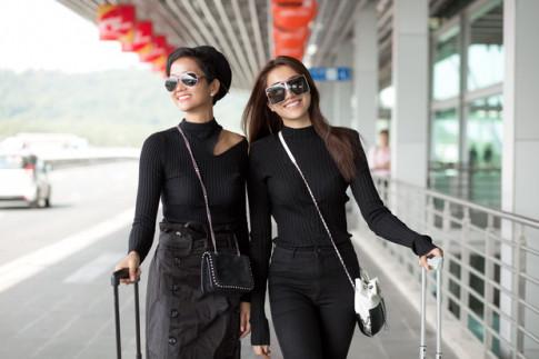 Hoa hau H'Hen Nie mat diem ngay tu street style dau tien vi trang phuc nhan nhum