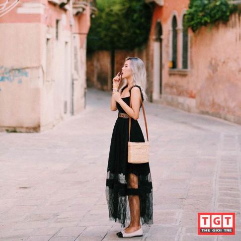 Ngam street style cuc chat cua co nang nhiep anh gia xinh dep Rose Nguyen