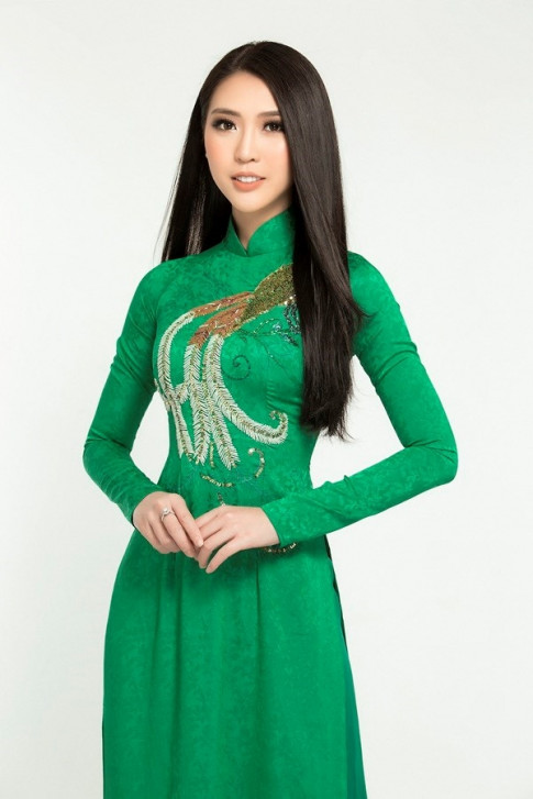 Tuong Linh xung danh my nhan dien ao dai dep nhat showbiz