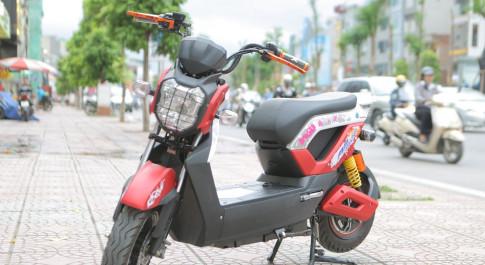Xe dien Zoomer 2106 chinh hang, co giay to day du, bao hanh 3 nam