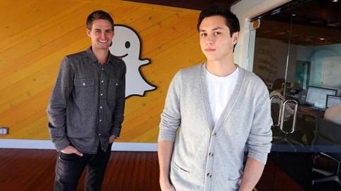 Đôi bạn thân con nhà giàu tạo ra Snapchat và trở thành tỷ phú đô la tuổi 25 nhờ 'quá điên'