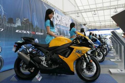 Hang chuc nghin nguoi du ngay hoi sieu moto Suzuki