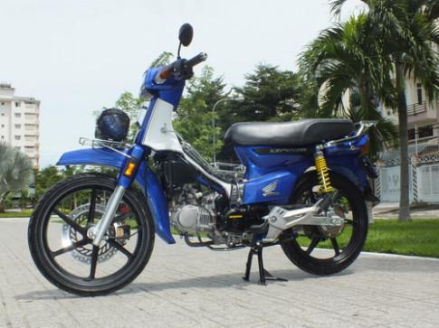 Honda Dream Thai 'do' pha cach tai Sai Gon