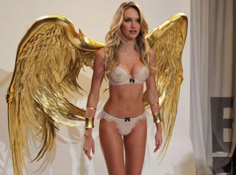 Hot: He lo noi y nong bong cua Victoria's Secret Show 2014