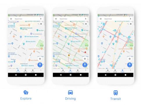Lan dau tien sau nhieu nam, Google Maps duoc cap nhat de co ve ngoai ruc ro hon