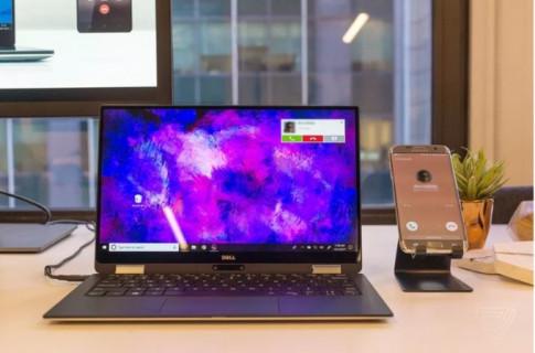 Microsoft cong bo Your Phone de ban khong can cham den dien thoai khi ngoi truoc PC