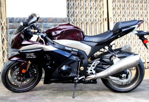 Sieu moto Suzuki GSX-R1000 2009 xuat hien tai Sai Gon