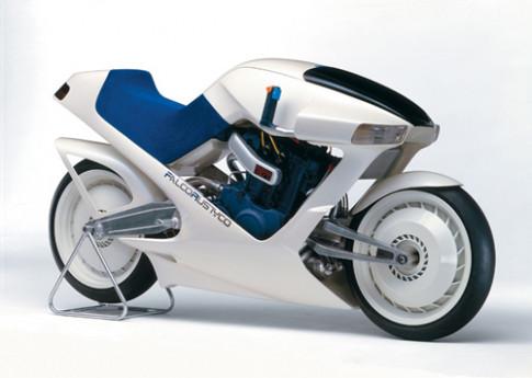 Suzuki Falcorustyco - moto concept lac thoi tu thap ky 80