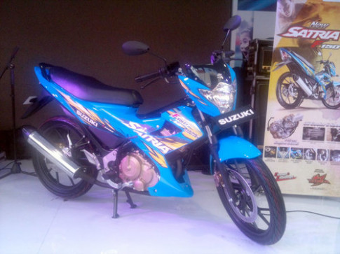 Suzuki Indonesia ra mat Satria F150 moi