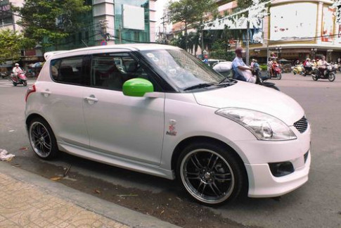 Suzuki Swift do phong cach Samurai tai Sai Gon