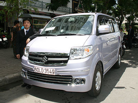 Suzuki Viet Nam ra mat APV moi