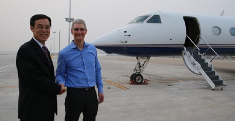 Tim Cook , tong giam doc Apple duoc tra luong bao nhieu?