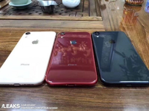 Tin don cuoi cung ve iPhone 2018: iPhone XC, iPhone XS va iPhone XS Max?