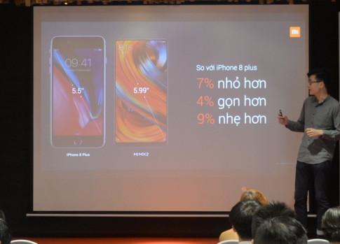 Xiaomi cong bo Mi MIX 2 va Redmi Note 5A Prime gia 'sieu mem' tai Viet Nam