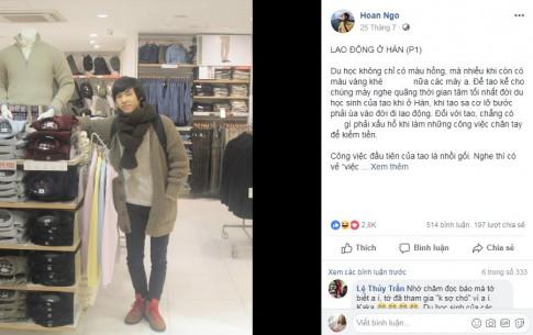 "Bang thanh tich khung cua soai ca viet ""tieu thuyet du hoc Han Quoc"" gay sot MXH"