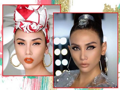 """Bi che gia, Tieu Vy tim ra kieu makeup """"chan li"""", Vu Cat Tuong xuong sac du dau tu ky"""