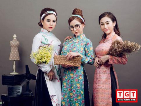 "Bo 3 hot girl noi tieng Sai Thanh hoa than ""Co Ba Sai Gon"" xinh dep tuyet sac"