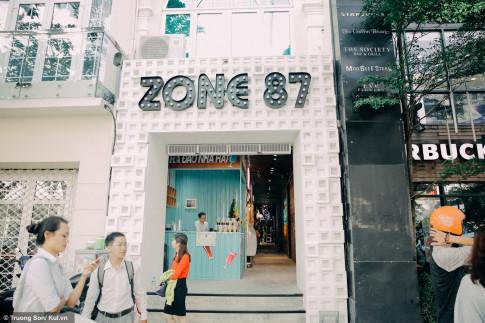 Dot kich khu to hop an choi, mua sam Zone87 moi mo cua cua Midu