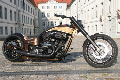 Harley Davidson do Custom Wolf