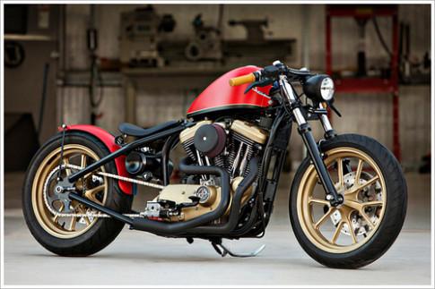 Harley Davidson do phong cach Hollywood