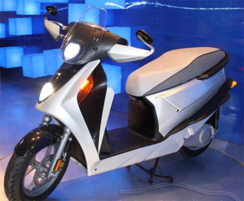 Hero Leap - scooter hybrid khac la o An Do
